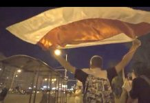 Protest action in Minsk ended without clashes