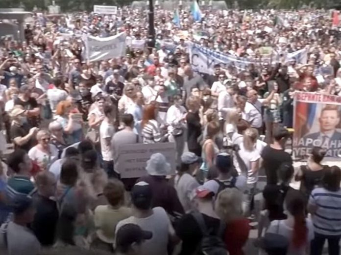 The analyst: To protests in the Khabarovsk subsided, we need the carrot, the whip does not work