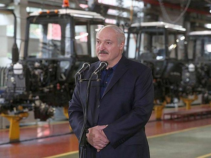 The opposition has accused Lukashenka of provoking the