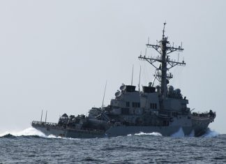 The United States conducted in the Black sea large-scale exercises of Navy and air force