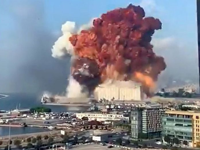 The US promised to find out the cause of the explosion in Lebanon