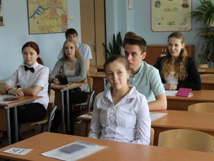 Who passed the exam on social science graduates protested the